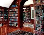 perpustakaan rumah semewah perpustakaan modern 4