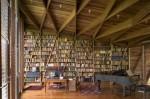 perpustakaan rumah semewah perpustakaan modern 7